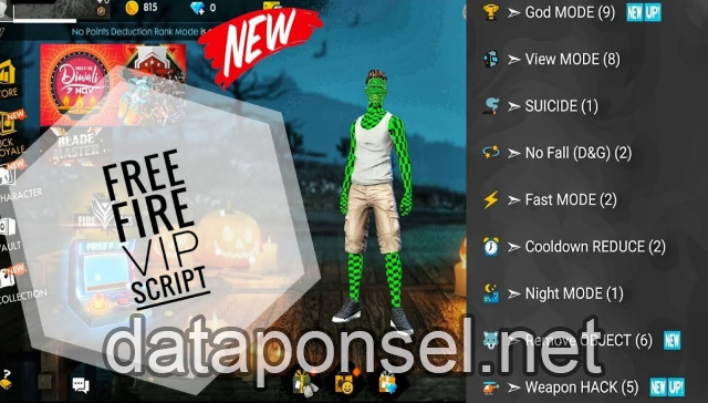 √ Cara Mudah Cheat Game Free Fire Auota Booyah | Data Ponsel